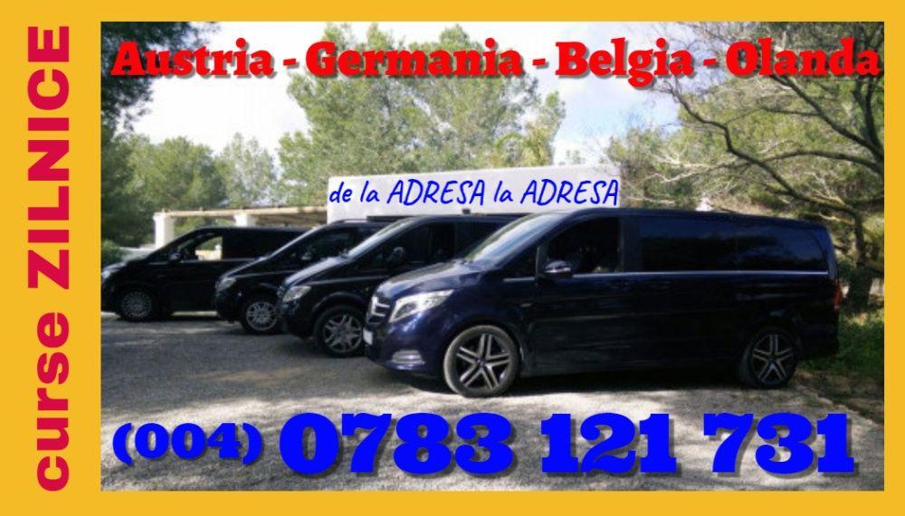Plecari ZILNICE transport persoane Romania Austria Germania la adresa Drobeta-Turnu Severin - imagine 1