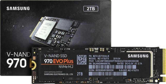 NVME SSD 2Tb Samsung 970EVOPlus