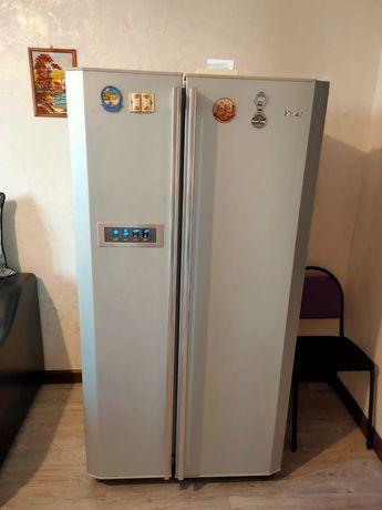 "2- ух камерный холодильник ""Haier"""