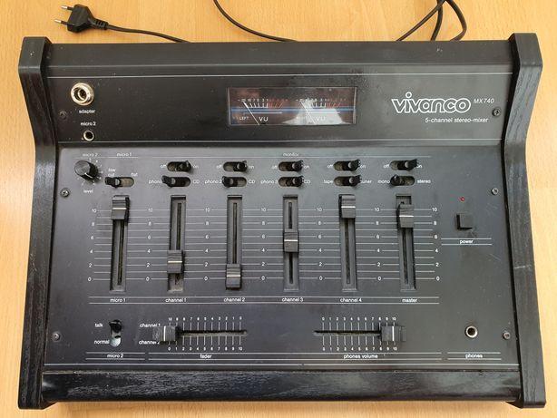 Mixer audio 5 canale Vivanco MX740