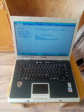 laptop  Gericom EGO 1560 XL P4 -MD560MMI + 2GB RAMI DDR2