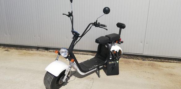 Електрически скутер 1500W с Документи за Регистрация 2021г Аларма
