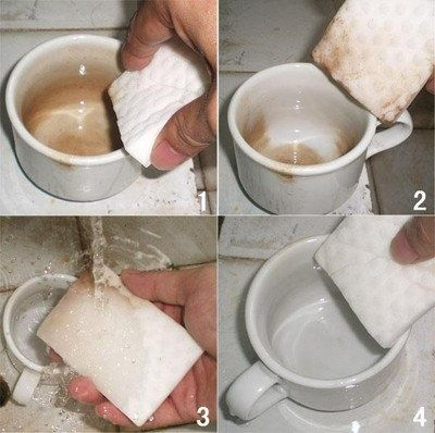 Меламиновая губка для дома