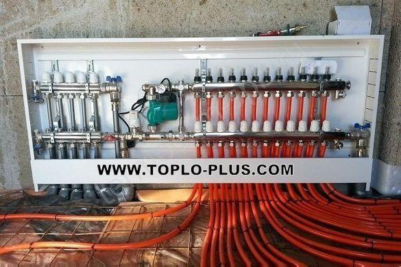 Колектори за подово отопление