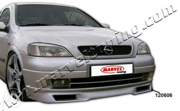 Спойлер (тунинг добавка) за предна броня за Opel Astra G №120606