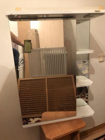 Шкафчик для ванны над раковиной абсолютно новый