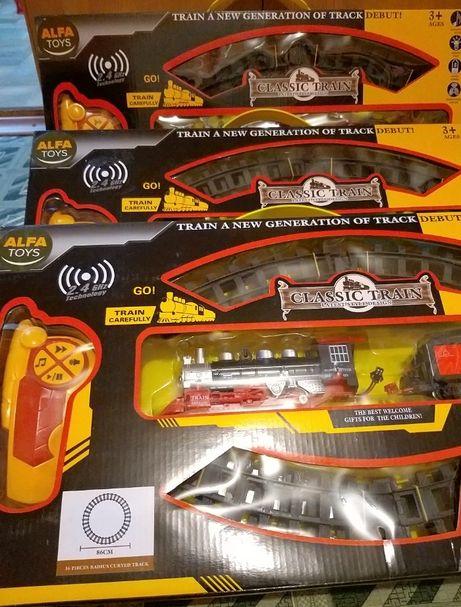 Железная дорог на пульте управления,новая в упаковке,отличного качеств