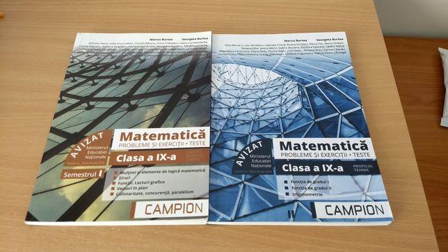 Culegerii matematica clasa 9 si 10