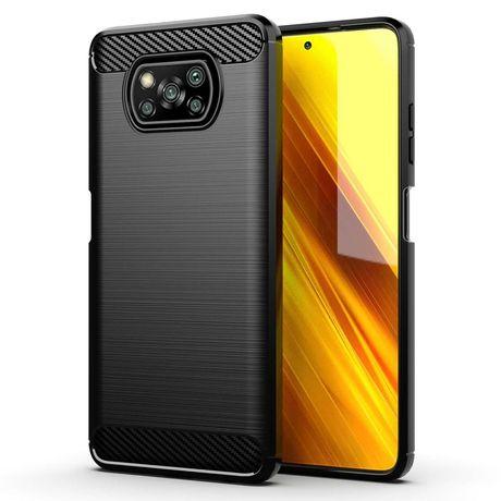 Xiaomi Poco X3 - Удароустойчив Гръб / Кейс CARBON