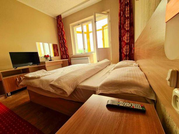 Номер в новой гостинице в центре всего 8000/с, лучше квартир посуточно