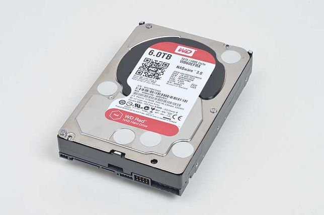 6TB WD Hard disk NAS Western Digital WD60EFRX sata PC DVR