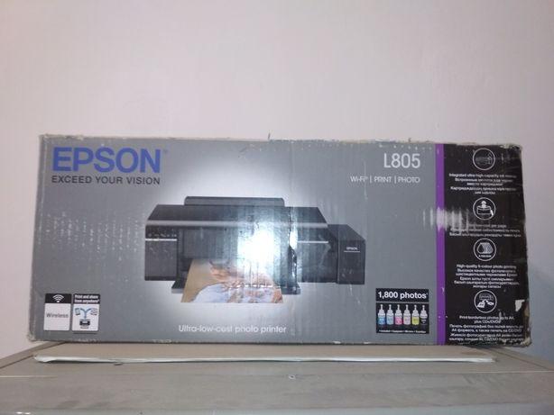 epson l805 почти новый