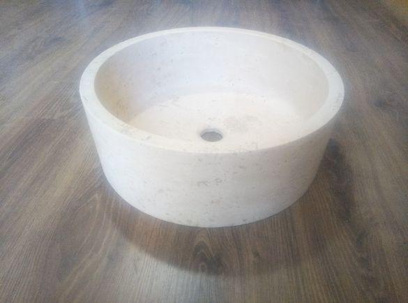 Мивка естествен камък Травертин