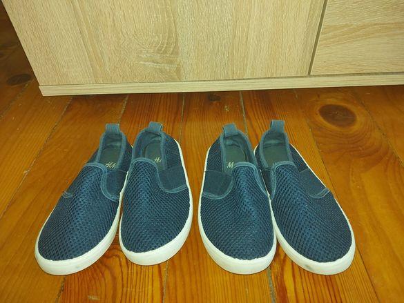 Тъмно сини еспадрили H&M- номер 26- в отлично състояние