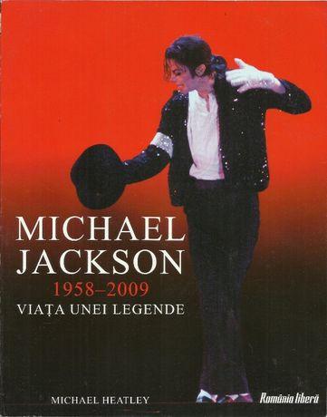 Carte album despre Michael Jackson, cu ilustratii