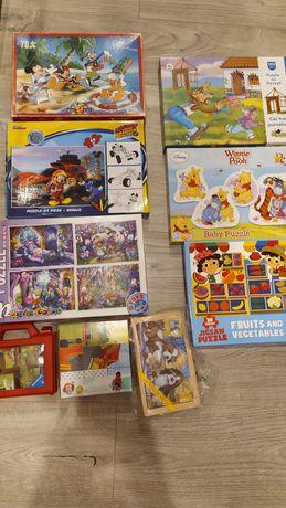 Set puzzle copii
