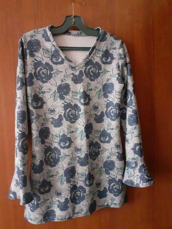 Дамска пъстра  блуза