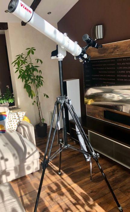 Телескоп 80/910 Рефрактор Ахромат - комплект