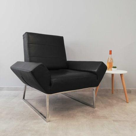 Кресло от естествена кожа Effezeta Italy