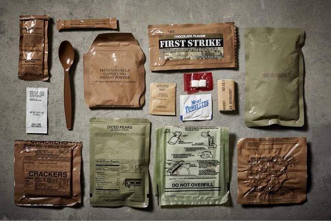 MRE - Ratie alimentara individuala.(USA)