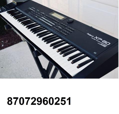 Продам рабочую станцию Roland XP80 ,стойка в подарок