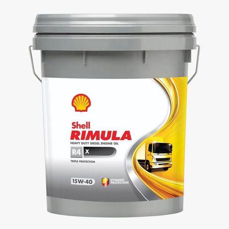 Масло Shell Rimula R4 X 15W-40