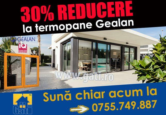 Azi 30% REDUCERE la termopane Gealan în Clinceni / Ilfov