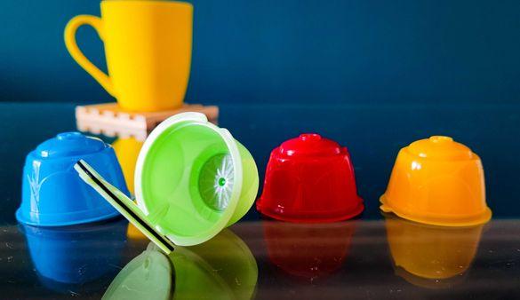 Капсули за кафе за многократна употреба за Dolce Gusto + ПОДАРЪК