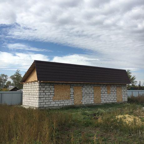 Недостроенный дом, участок 10 соток.с.Садчиковка.