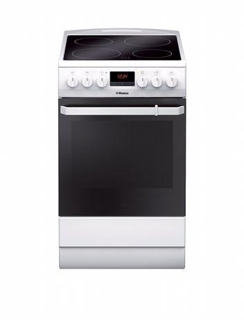 Електрическа готварска печка Hansa FCCW59209, 4 Нагревателни зони, Фун