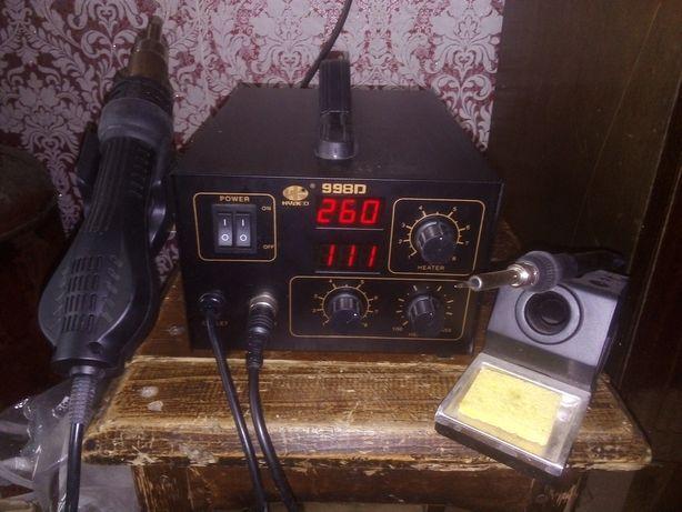 пояльная станция термовоздушная