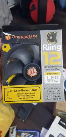 Thermaltake Riing 12 120mm LED Case Radiator Cooling Fan