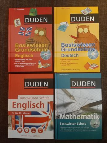 Vand carti Duden ,istorie si geografie in limba germana noi .