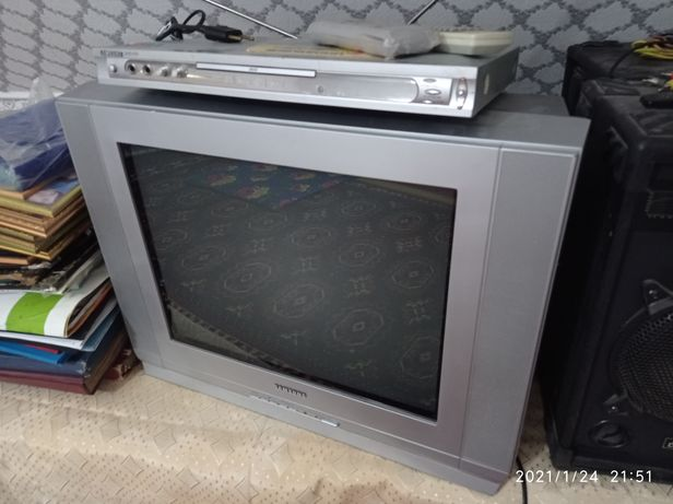 Телевизор Samsung, DVD с караоке