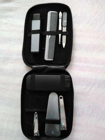 Мъжки тример Power Touch с батерия в него и мъжки несесер Power Touch