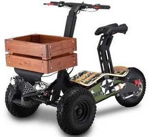 Trike electric Velocifero Mad Cargo 1600 W