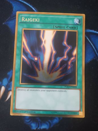 Yu-Gi-Oh! Raigeki yugioh gold ultra secret rare индивидуални карти