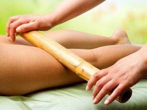 Masaj anticelulitic, relaxare, bete de bambus, reflexogen