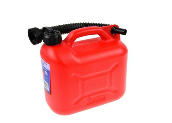 Пластмасова туба 5 литра + фуния