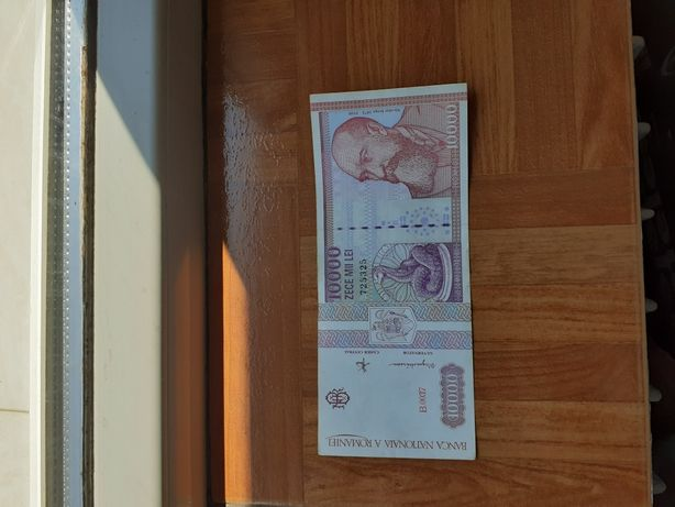 Bacnota veche 10.000 lei