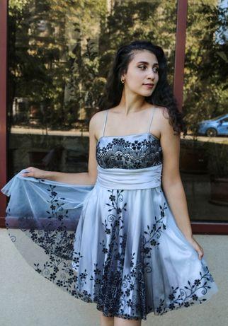 Vand rochie de ocazie (banchet, bal, nunta, botez) - marimea S-M, NOUA