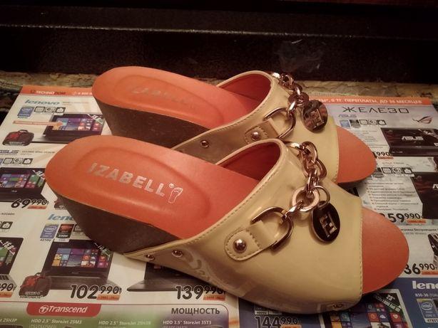 Женская обувь 39р сабо на платформе