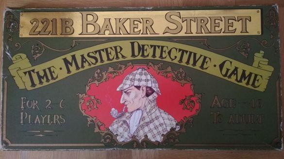 Бордова игра 221B Baker Street, the master detective game
