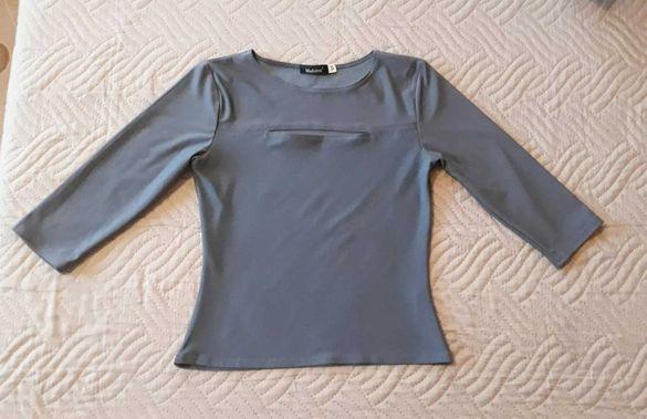 Къса блузка със 7/8 ръкави