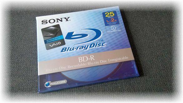 Нови блу-рей дискове /Blu-Ray Disc SONY `BDR 25Gb x2