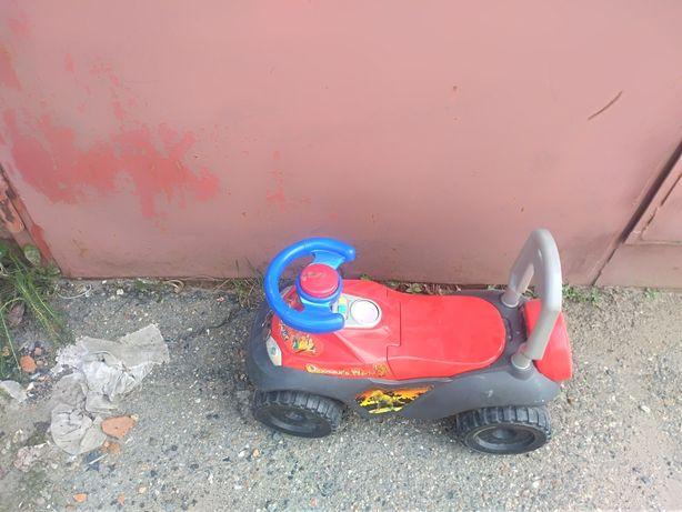 Детская машина самокат