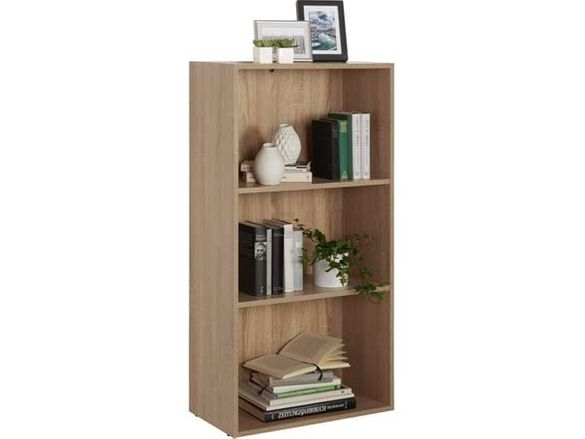 Етажерка дъб сонома-60х32х115.2 см/Етажерка за книги/библиотека
