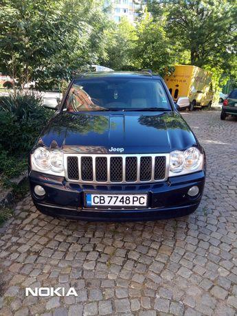 Продавам Jeep Grand Cherokee 3.0 CRD 218кс 2007г  OVERLAND