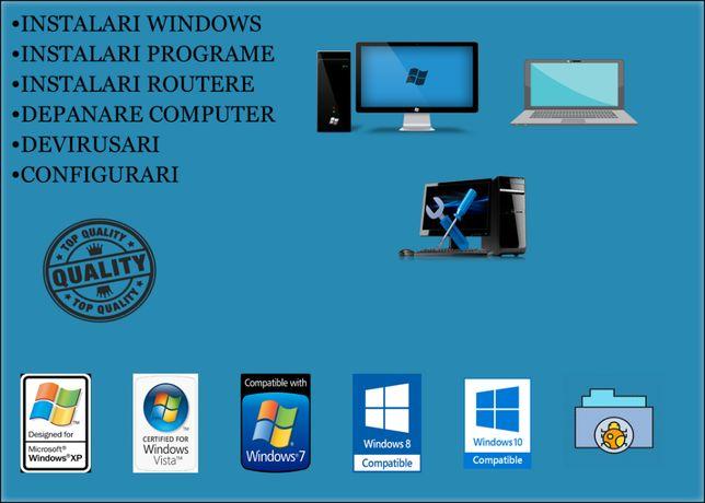 Instalare Windows ( XP / Vista / 7 / 8 / 10 ) | Depanare PC