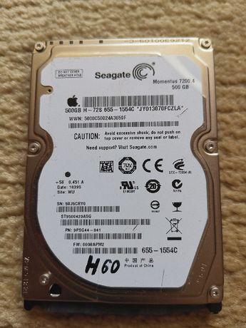 H60 SEAGATE 500Gb Hdd Sata rotati 7200 hard fuctional+windows 10